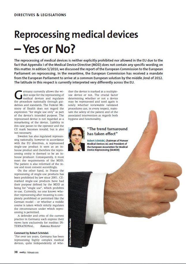meditech INTERNATIONAL, Ausgabe 1/2012
