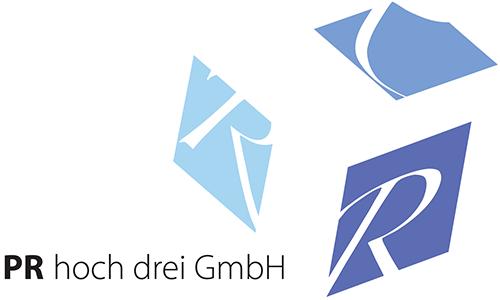 PR hoch drei Logo