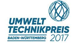 Umwelttechnikpreis Baden-Württemberg 2017